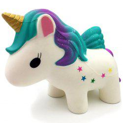 PU Slow Rebound Unicorn Decoration Decompression Toy -