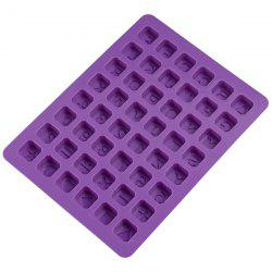48-hole English Alphabet Silicone Cake Mold -