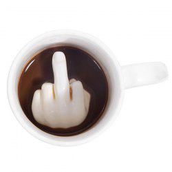 Middle Finger Ceramic Creative Cup -