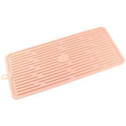 Kitchen Bar Dry Drain Pan Anti-hot Anti-overflow Rack Silicone Filter Water Pad -