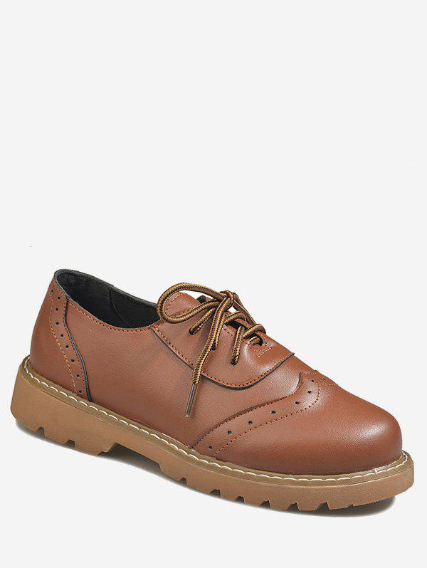 Outfit Low Top Lacing Wingtip Shoes