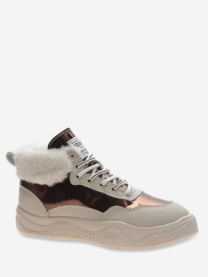 Best High Top Patent Leather Platform Sneakers