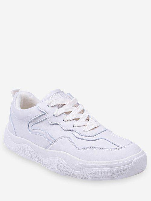 Latest Fur Lined Lacing Casual Sneakers
