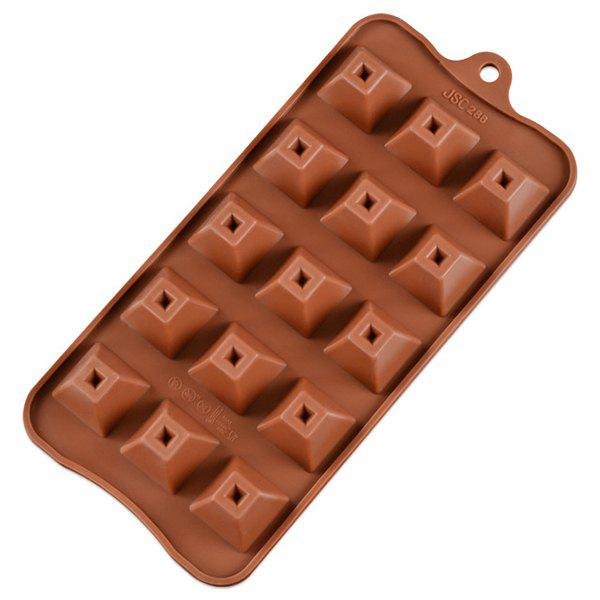 Online 15 Pyramid Chocolate Mold