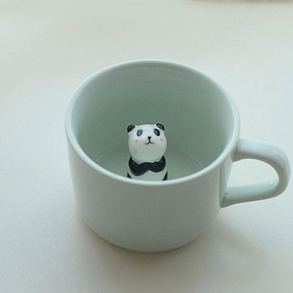 Best Animal Coffee Stereo Ceramic Cute Cartoon Creative Panda Cup