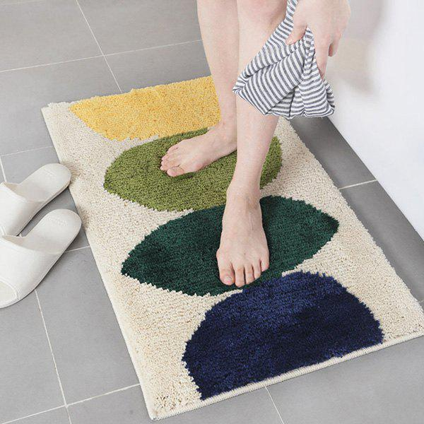 Outfit Simple Household Kitchen Bathroom Door Water Absorption Non-slip Mat