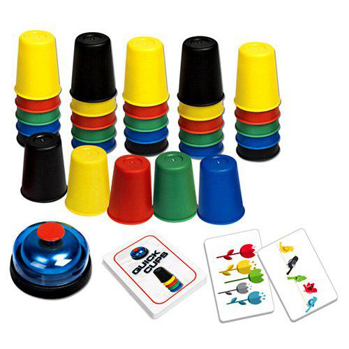 Bild von Children's Puzzle Board Games Quick Hands Stack Cup Game Early Learning Interactive Toys
