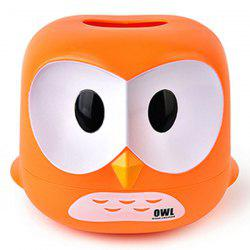Cartoon Owl Tissue Box -