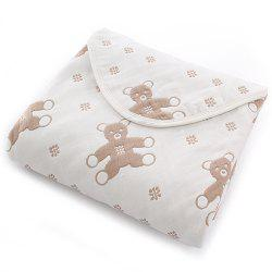Cotton Six-layer Non-fluorescent Baby Blanket -