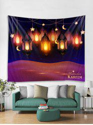 Lanterns Print Tapestry Wall Hanging Art Decoration -