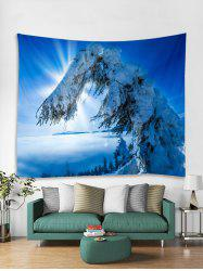 Snow Trees Print Tapestry Wall Hanging Art Decoration -