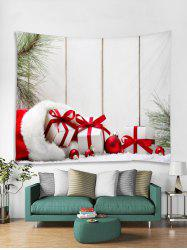 Christmas Gifts Print Tapestry Wall Hanging Art Decoration -