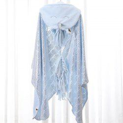 Thickened Flannel Unicorn Hot Stamping Velvet Lazy Shawl Blanket -