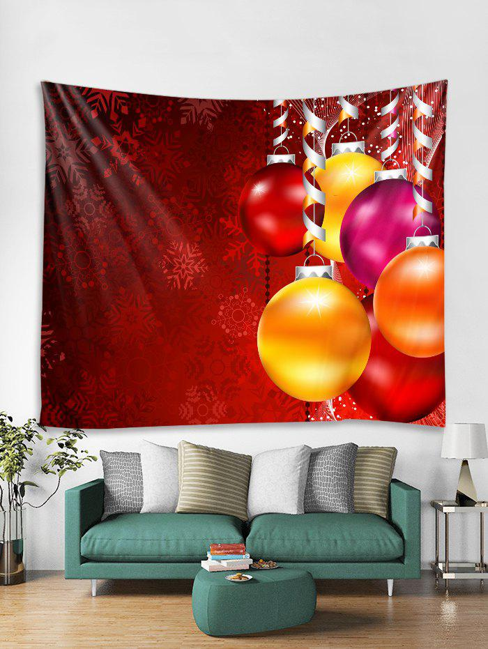 Outfit Christmas Balls Print Tapestry Wall Hanging Art