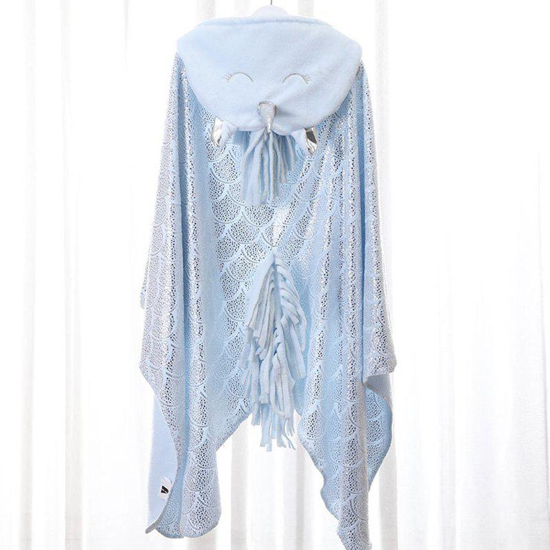 Buy Thickened Flannel Unicorn Hot Stamping Velvet Lazy Shawl Blanket