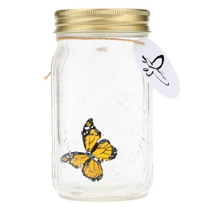Shops ZML - 290 Beautiful Simulated Can Fly Butterfly Can with Light