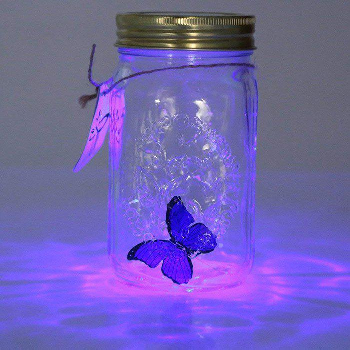 Chic ZML - 290 Beautiful Simulated Can Fly Butterfly Can with Light