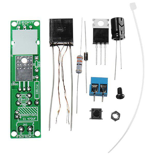LEBANGSHOU Arc Allumeur DC3-5V 3A DIY Kit de Module d'Allumeur Electronique Haute Tension