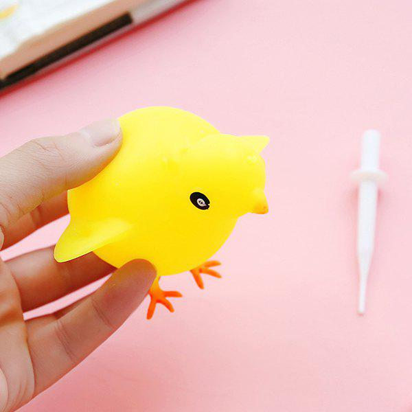 Discount Blowable Animal Vent Toy Hippo Chick Elephant Pinch Decompression Gadgets