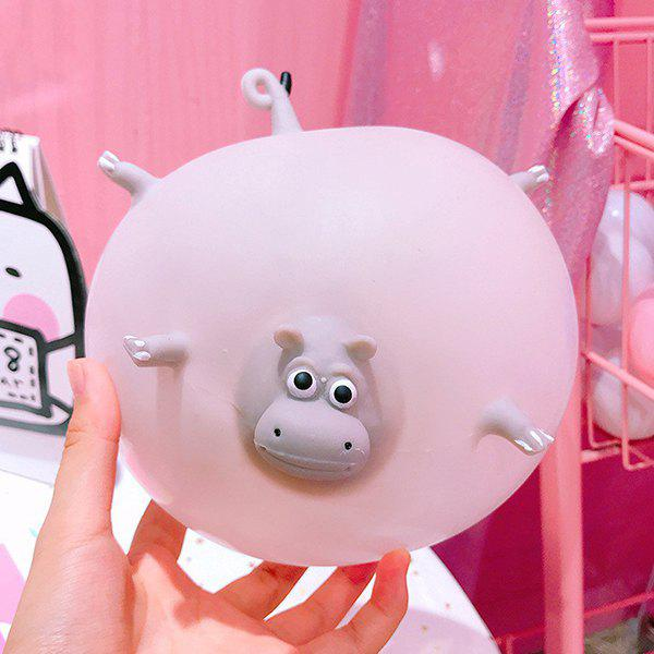 Store Blowable Animal Vent Toy Hippo Chick Elephant Pinch Decompression Gadgets