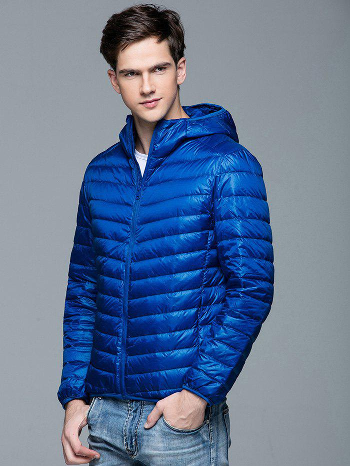 Latest Short Plus Size Casual Hooded Down Coat