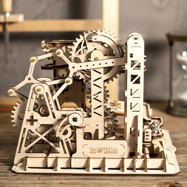 Online Robotime Creative Wood Crafts Difficult to Assemble Three-dimensional Block Toys