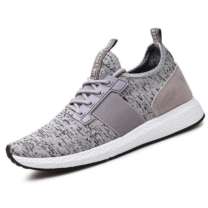 Outfit Flying Woven Mesh Casual Shoes