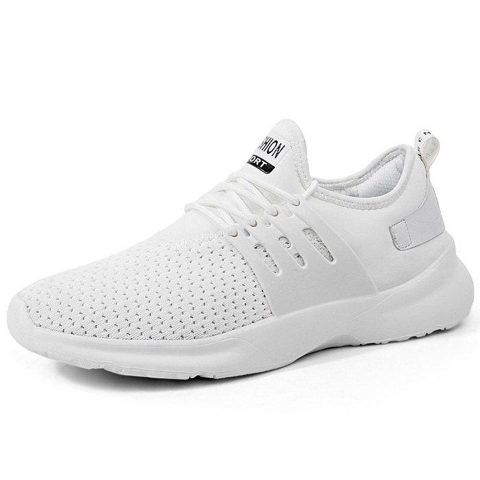 Latest High Elasticity Casual Men Sports Shoes Male Sneaker