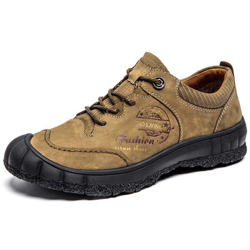 Hot Men Outdoor Wearable Classic Lace-up Hiking Shoes