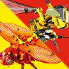 DIY Simulation Insect Hand Hornet Model Building Blocks 236pcs -