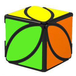Shaped Smooth Puzzle Fun Toy Magic Cube -