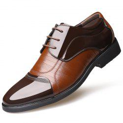 Men Comfortable Lace-up Formal Business Shoes -
