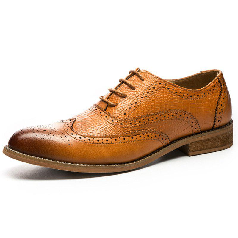 Affordable Trends British Soft Bottom Non-slip Dress Shoes for Men