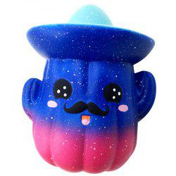 Slow Rebound Cartoon Color Cactus Squishy Toy -