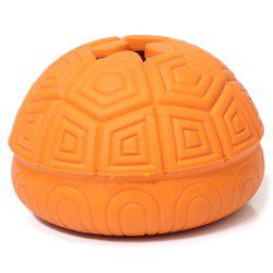Tortue Shell Design Jouet Chien Ball Leaking Fuite -