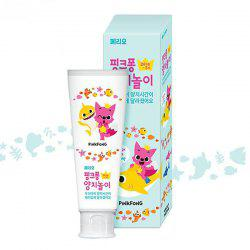 Infant and Child Touch Fox Green Grape Toothpaste -
