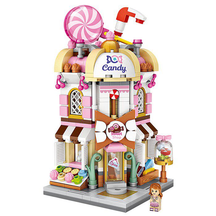 Fashion LOZ  Candy Store Puzzle Block Toy