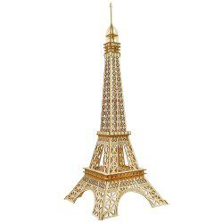 DIY Handmade Puzzle Paris Tower 3D Wooden Model -