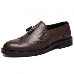 Men's Wearing Large Size Casual Pointed Shoes -