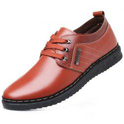 Men Comfortable Fashion Casual Leather Shoes -