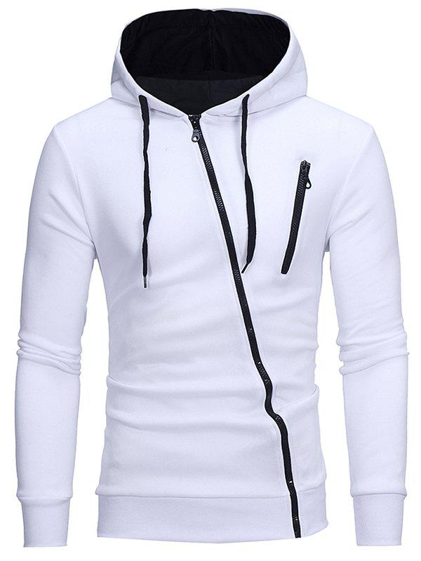 Discount W01 Men's Casual Hooded Cardigan Hoodie