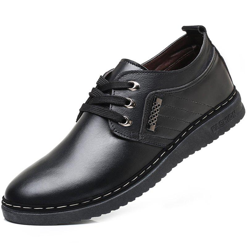 Fashion Men Comfortable Fashion Casual Leather Shoes