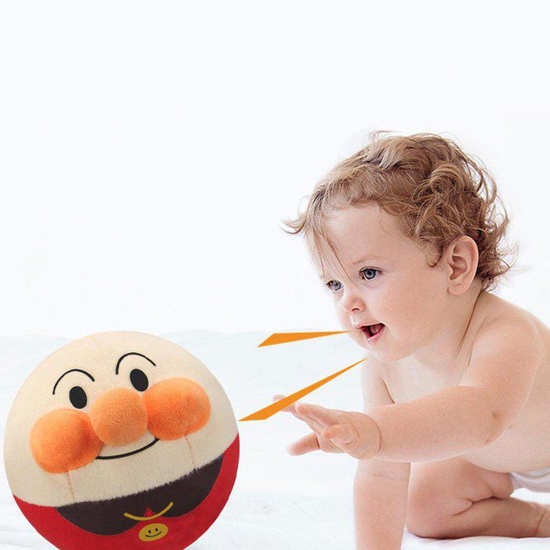 Outfits Cute Electric Jumping Ball Singing Recording Tumbler Plush Toy