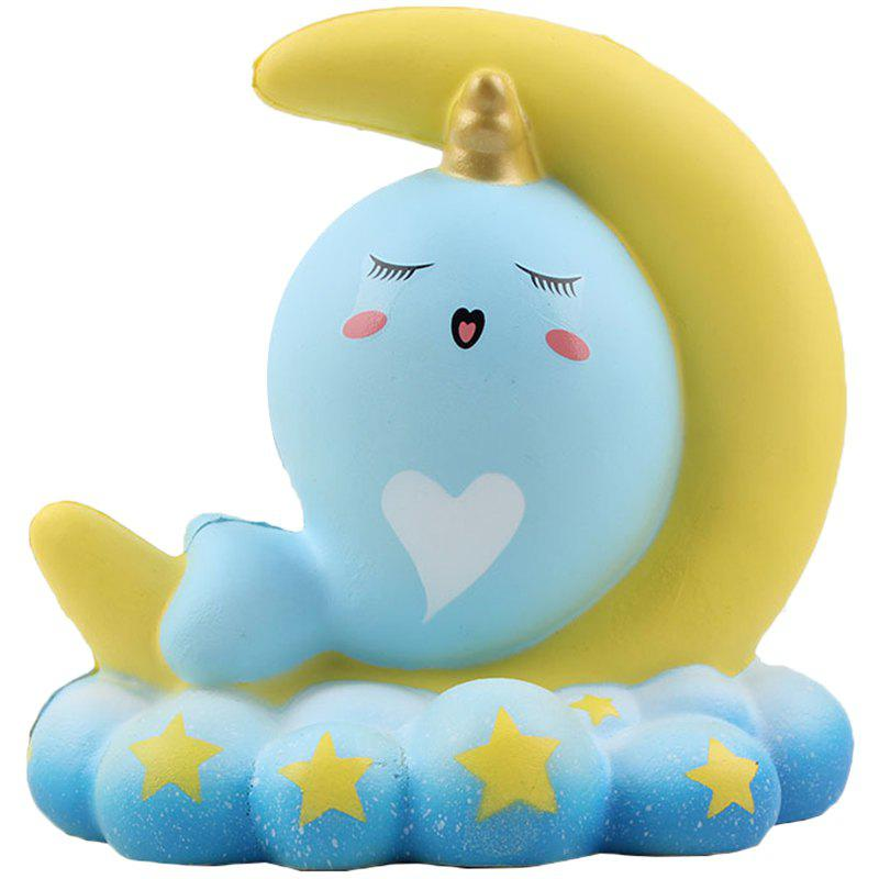 Outfits PU Slow Rebound Moon Whale Squishy Toy