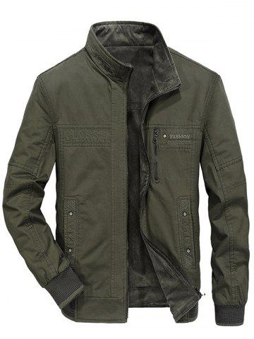 Men Stylish Double-faced Outdoor Leisure Jacket