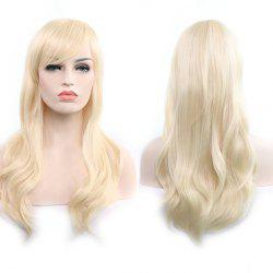 Anime Europe America 70cm Longs Cheveux Frisés - Blonde
