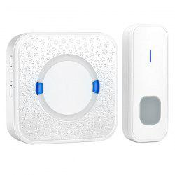 P6 Wireless Doorbell Home Remote Music Bell 52 Music -