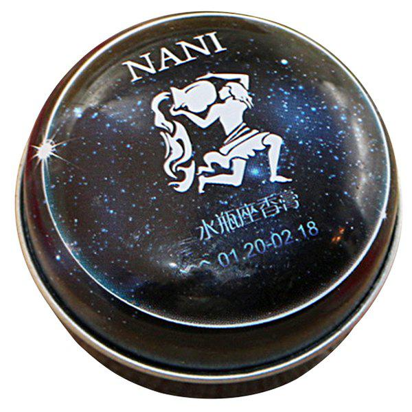 Fashion Simple 12 Constellation Solid Perfume