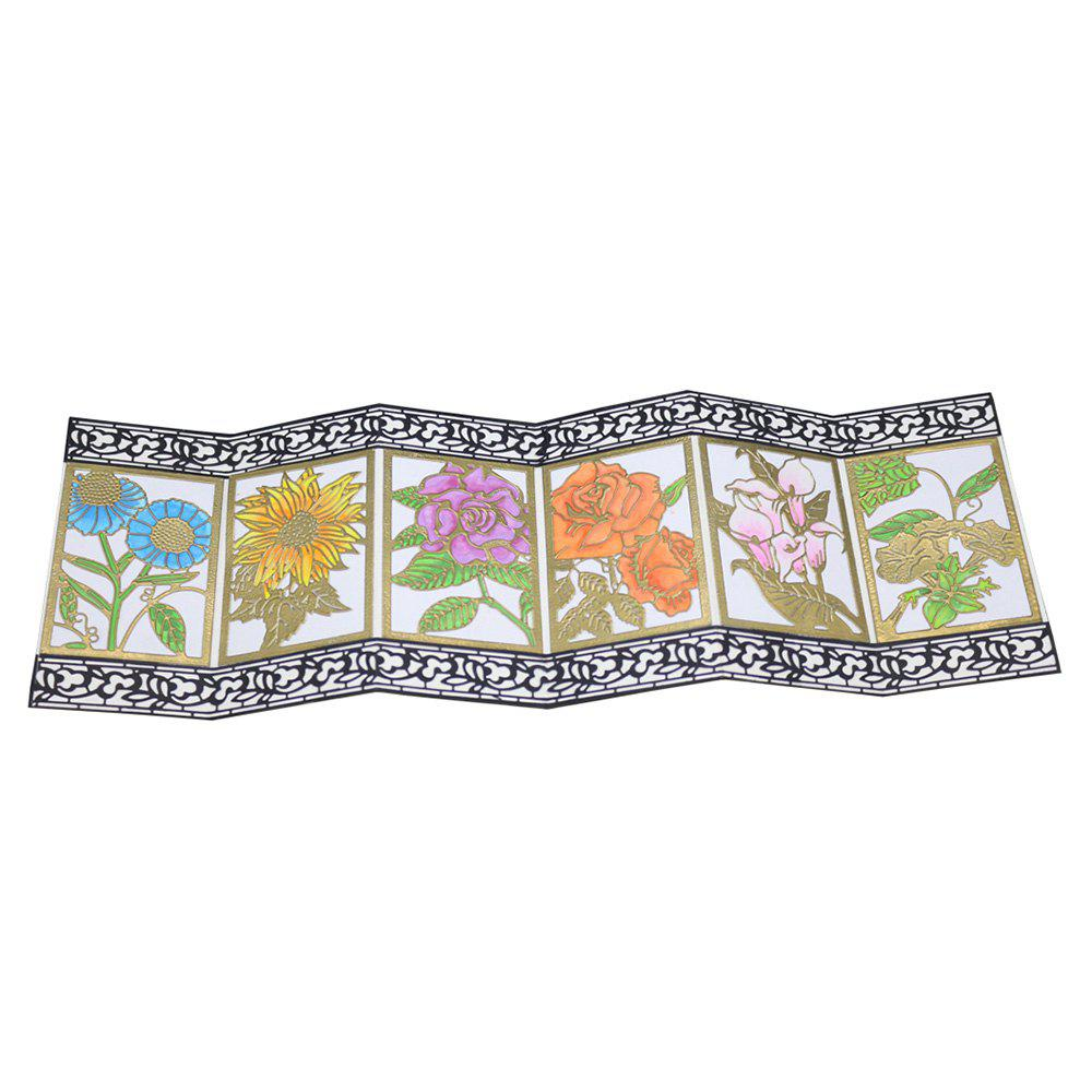 Outfits Carbon Steel Cutting Die Flower Background