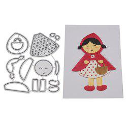 Little Red Riding Hood Carbon Steel Cutting Dies -